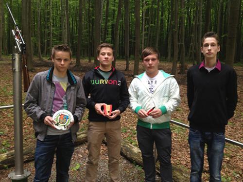 Jungschützen Vogelschießen 2012