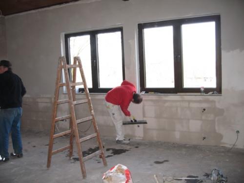 Renovierung Speiseraum 2008