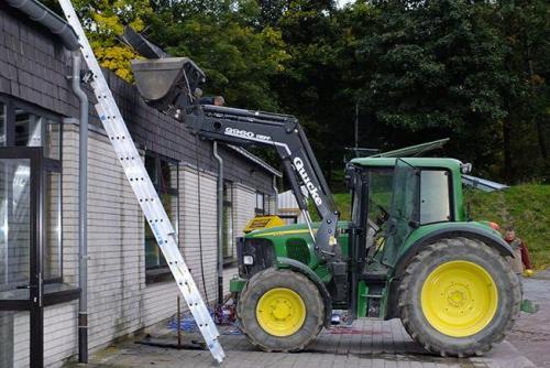 Dacharbeiten 2012